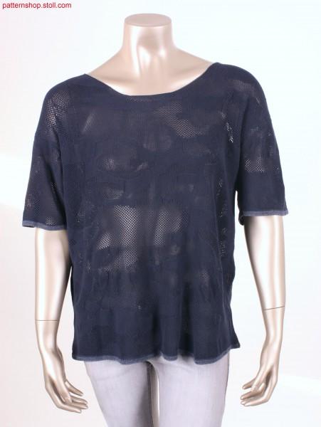 Unisex Fully Fashion T-shirt in tuck-piqu