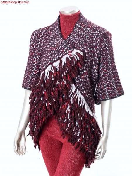 Fully Fashion wrap-around cardigan / Fully Fashion Wickelstrickjacke