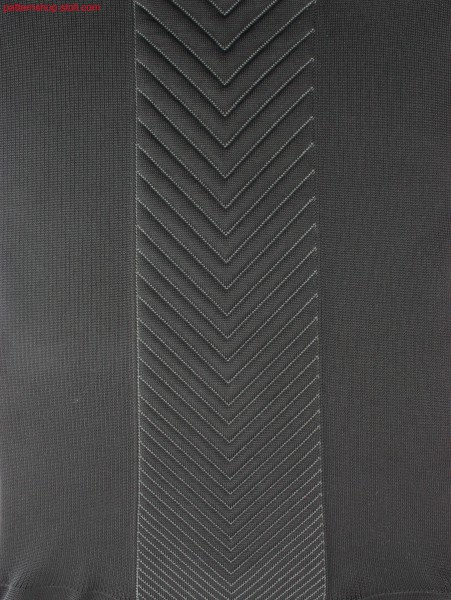 Plated, selective-cushioned cross tubular quilt pattering/ Plattiertes, selektiv-wattiertes Kreuzschlauch-Steppmuster