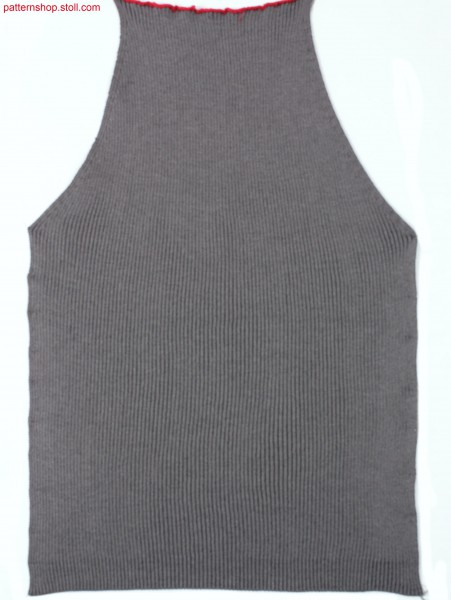 Plated Fully Fashion raglan sleeve in 2x2 rib / Plattierter Fully Fashion Raglan