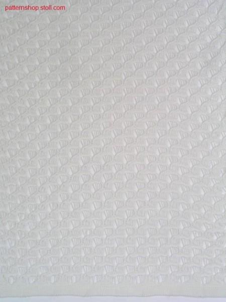 Pointelle-structure pattern / Petinet-Strukturmuster