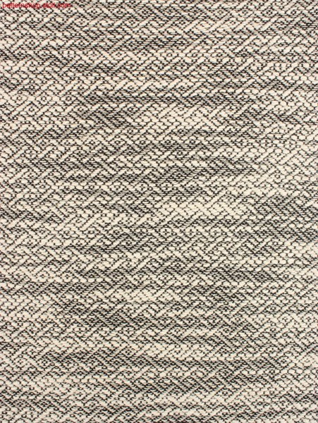 Swatch with Stoll-weave-in® with slub yarn / Musterabschnitt in Stoll-weave-in® mit Flammgarn-Schussfaden