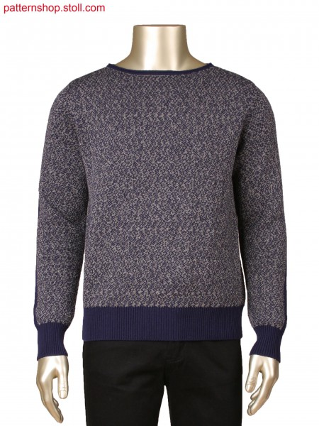 Fully Fashion 2-colour jacquard pullover