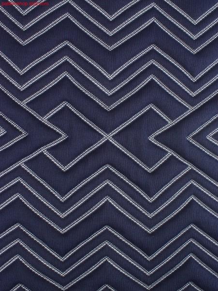 Swatch with quilt pattering / Musterabschnitt mit Steppmusterung