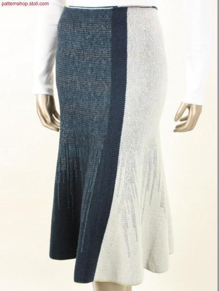 Godet skirt with shaping by gore technique / Godet-Rock mit Formgebung durch Spickeltechnik