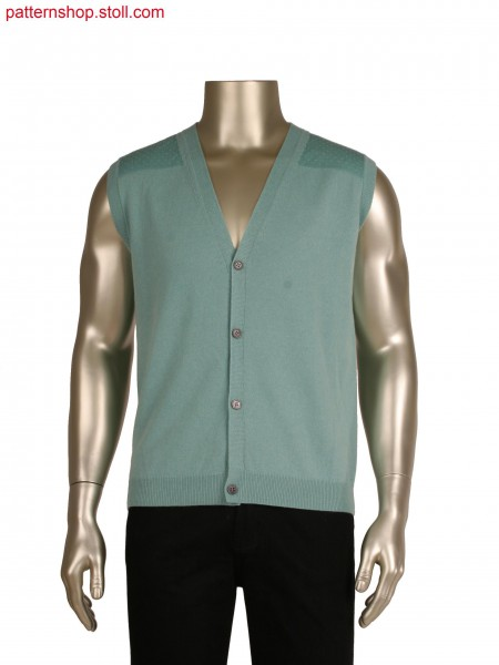Fully Fashion waistcoat with layered details