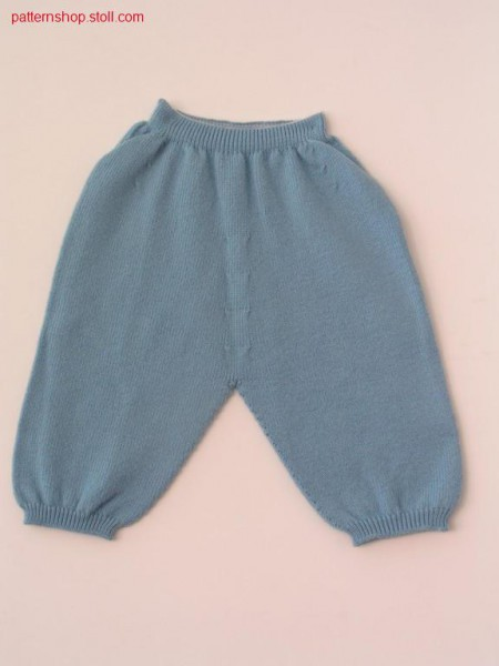 Children's trousers with 1x1 elastic waist / Kinderhose mit 1x1 Elastikbund