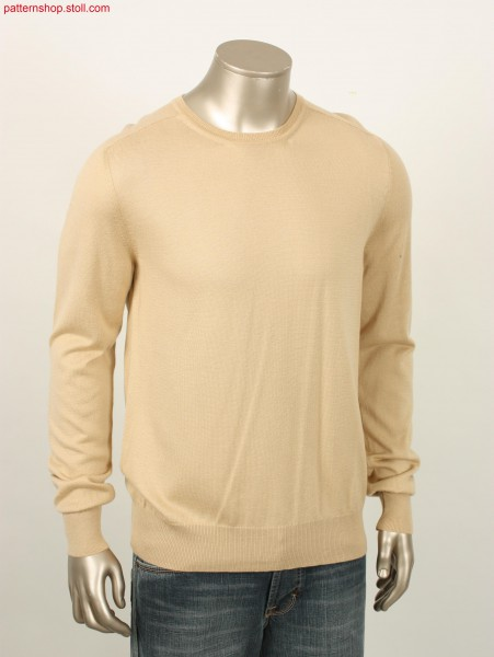 Fully fashion jersey basic pullover / Fully Fashion Rechts-Links Basispullover