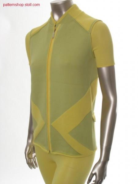 FF-cycle waistcoat, knitted in one piece / FF-Radweste, in einem Teil gestrickt