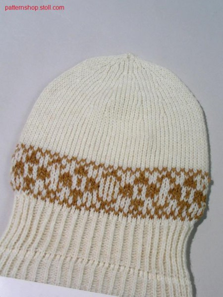 Cap with float jacquard / M