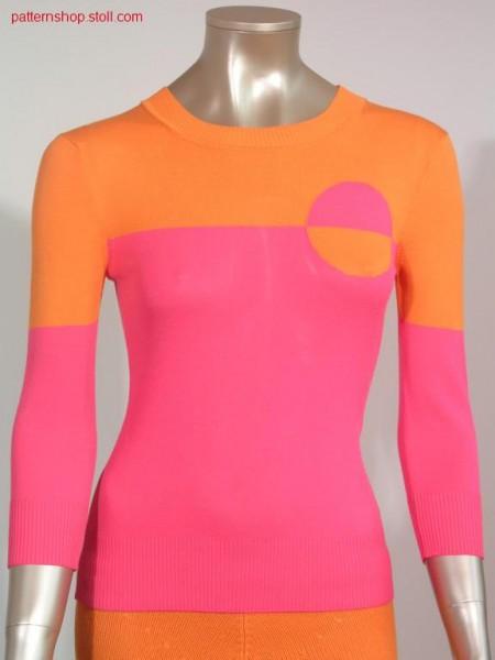 Jersey-FF-Intarsia Sweater / RL-FF-Intarsia Pullover
