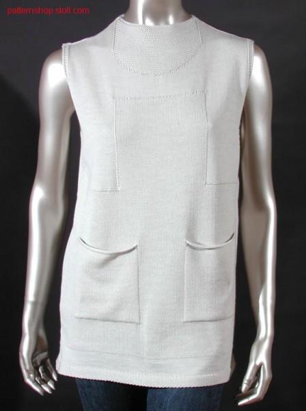Fully Fashion front with patch pockets / Fully Fashion Vorderteil mit aufgesetzten Taschen