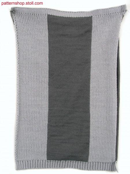 Two layer fabric (cross tubular, Stoll-multi gauges