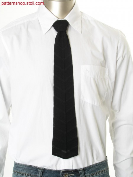 Ringed Fully Fashion cravat / Geringelte Fully Fashion Krawatte