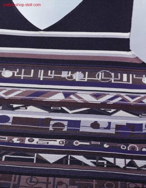 Multicolour F-F- Jacquard / Mehrfarbiges F-F- Jacquardbord