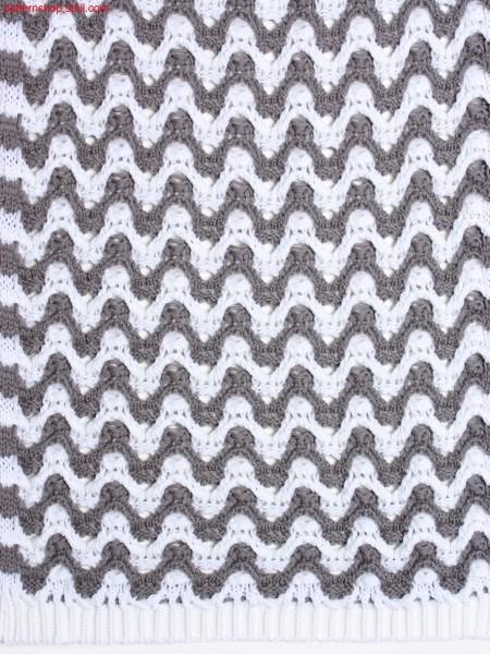 2-colour struture pattern in wave optic / 2-farbiges Strukturmuster in Wellenoptik