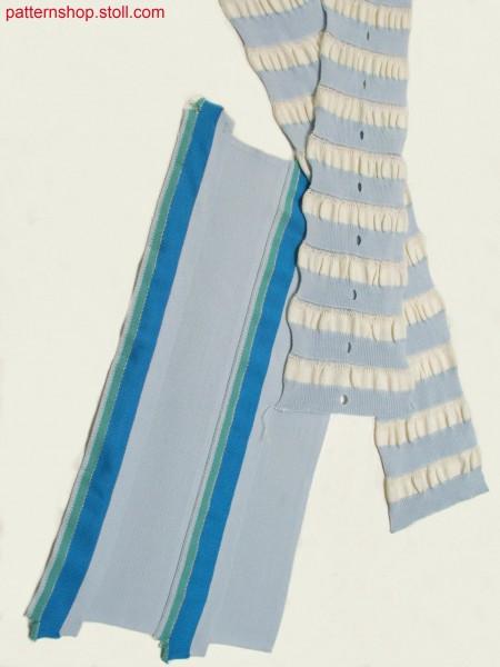 Milano-rib polo collar with tubular edges / Milano-Rib Polokragen mit Schlauchkanten
