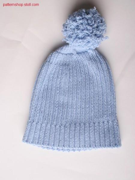 Fully Fashion cap in rib knit / Fully Fashion M