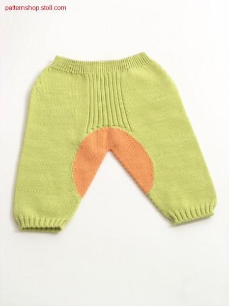 Intarsia children's trousers / Intarsia Kinderhose