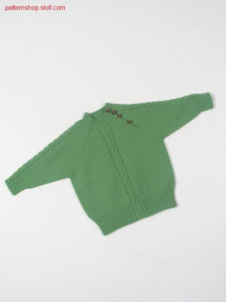 Children's raglan pullover / Kinder Raglanpullover