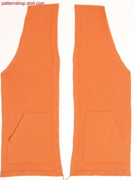 Fully Fashion cardigan front / Fully Fashion Strickjacken-Vorderteil