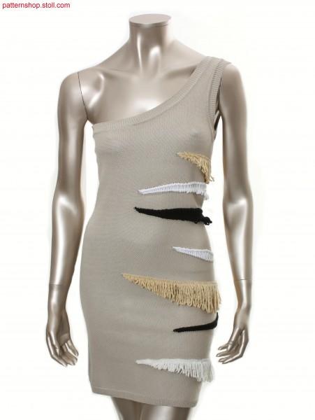 Asymmetrical fitted Fully Fashion dress / Asymmetrisch tailliertes Fully Fashion Kleid