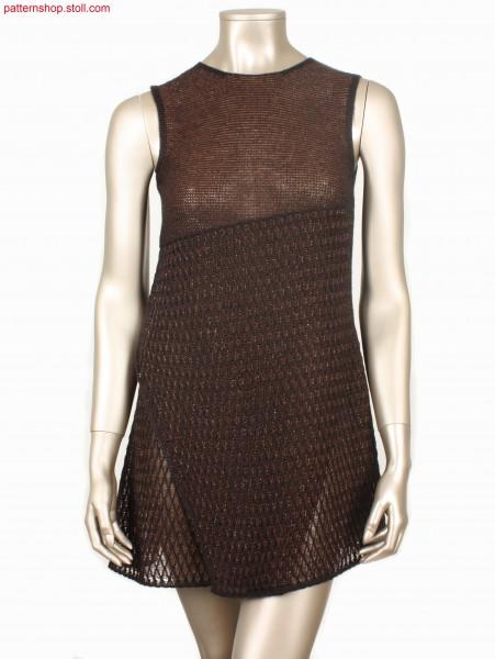 Sleeveless asymmetrical Fully Fashion mini-dress /