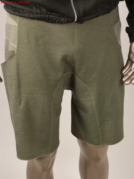 Shorts in camouflage look / Kurze Hose in Camouflage-Optik