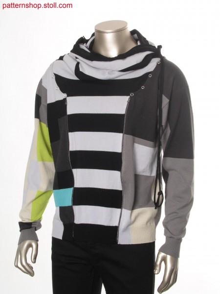 Unisex intarsia garment / Unisex Intarsia Kleidungsst