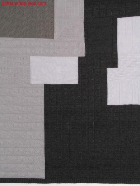 Intarsia structure pattern / Intarsia Strukturmuster