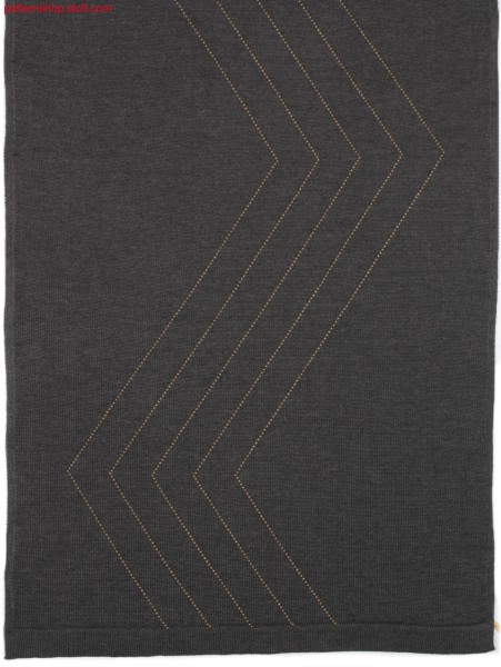 Knitted jersey fabric with float-ornamental stitch  / Rechts-Links Gestrick mit Flottzierstich