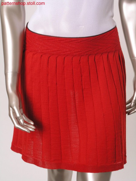 Fully Fashion pleated skirt / Fully Fashion Faltenrock