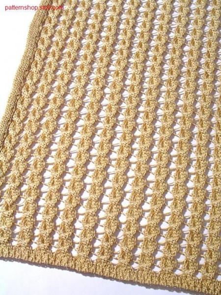 Separately knitted 2x3 cables by gore technique / Durch Spickeltechnik getrennt gestrickte 2x3 Z