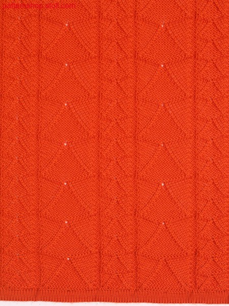 Pointelle pattern with split technique / Petinetmuster mit Splittechnik