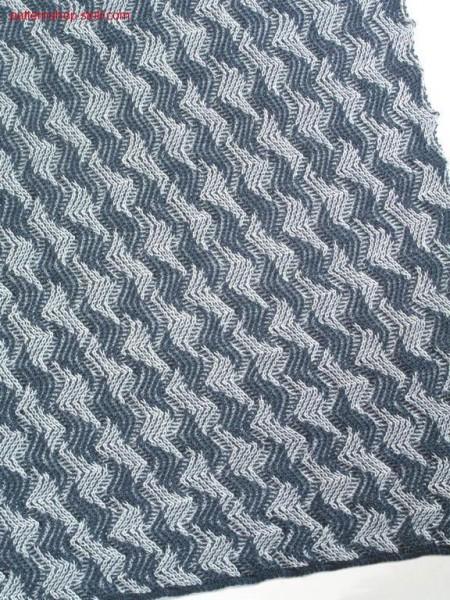 2 colour racking pattern / 2 farbiges Versatzmuster.