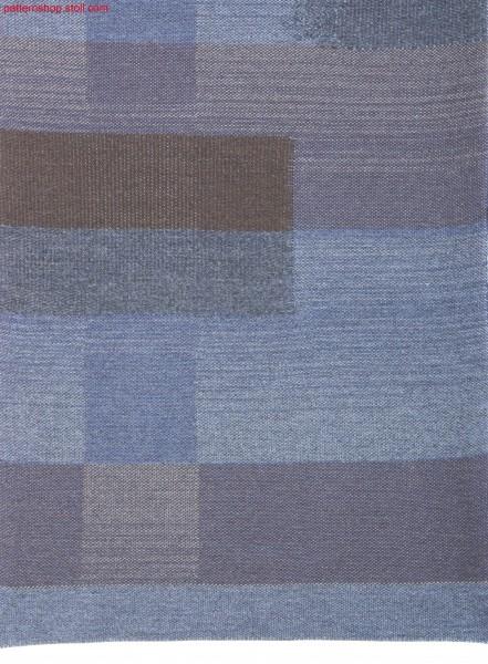 Swatch  in inverse plated jersey / Liasse in wendeplattiertem Rechts-Links