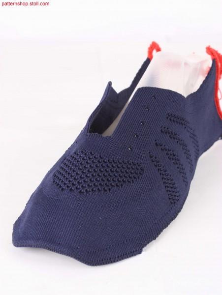 Shoe-upper design idea / Schuhoberteil-Designidee