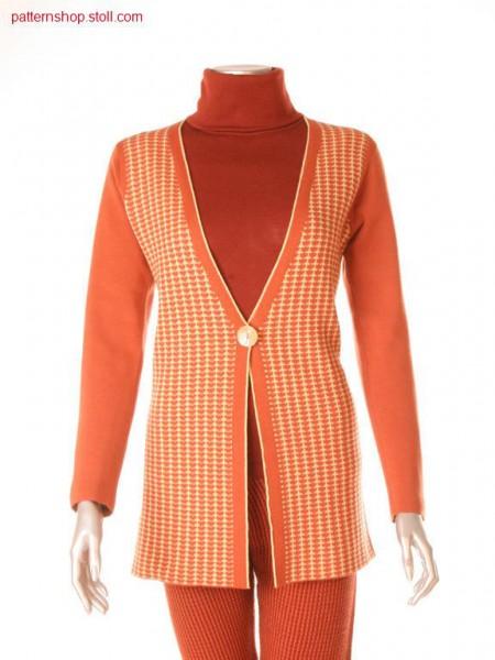 Fitted Fully Fashion cardigan / Taillierte Fully Fashion Strickjacke