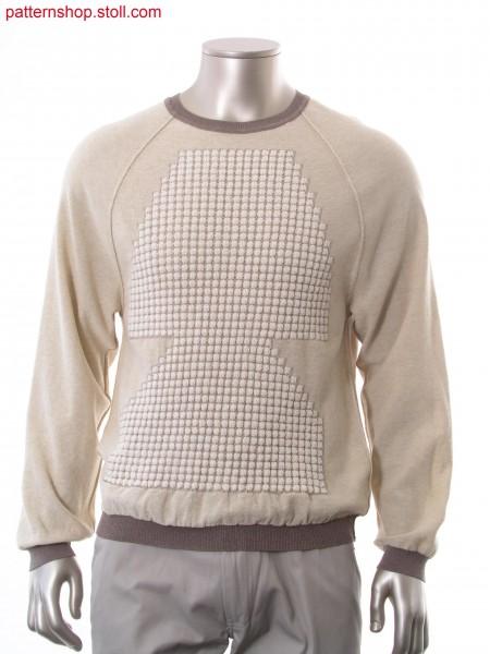 Reversible Fully Fashion raglan pullover / Fully Fashion Wende-Raglanpullover