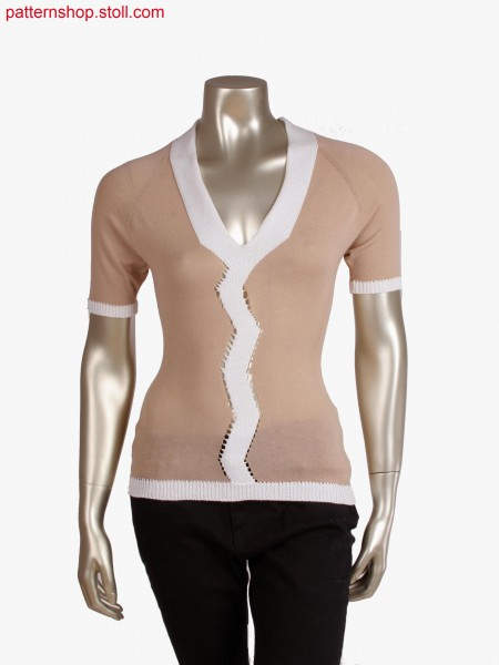 Fully Fashion top with integrated neckline and openings