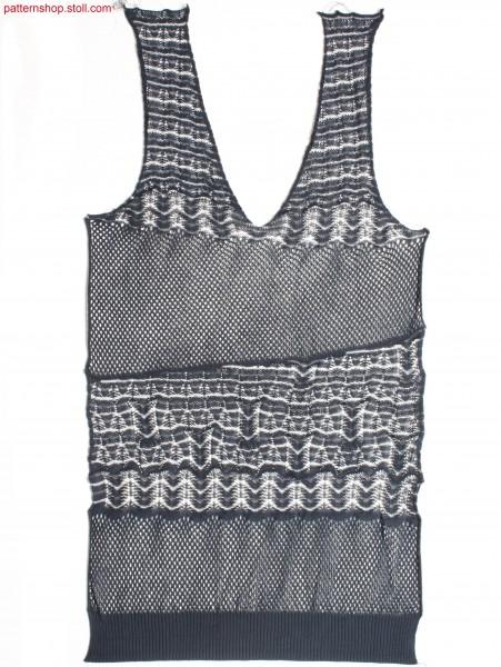 Fully Fashion front with V-neck / Fully Fashion Vorderteilmit V-Ausschnitt