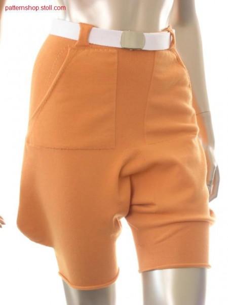 Short turkish trousers in gore technique / Kurze Pluderhose in Spickeltechnik