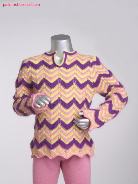 Ringed fully fashion children's pullover / Geringelter FullyFashion Kinderpullover
