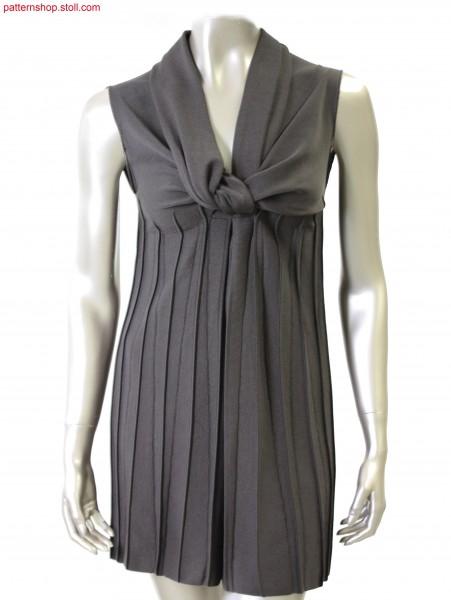 Sleeveless Fully Fashion empire dress /