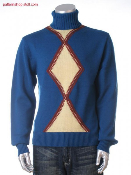 Fully Fashion-Intarsia pullover / Fully Fashion-Intarsia Pullover