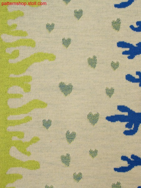 3-colored relief jacquard