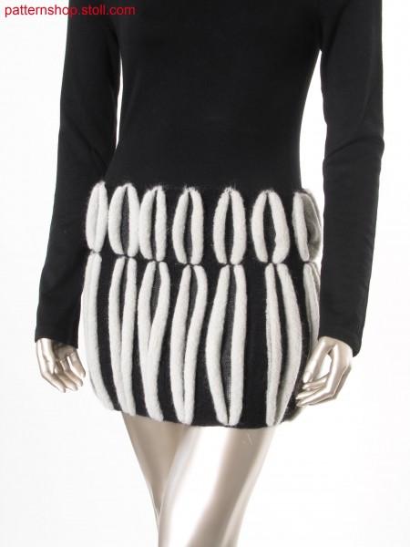 Mini skirt in gore technique / Minirock in Spickeltechnik