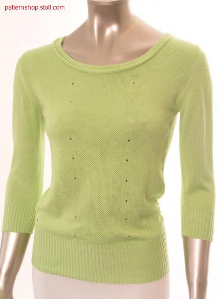 FF pullover with inserted sleeves / FF Pullover mit eingesetzten