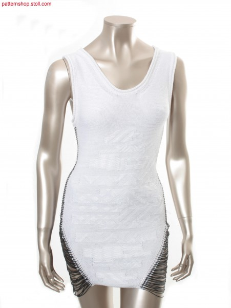 Sleeveless Fully Fashion jersey dress  /