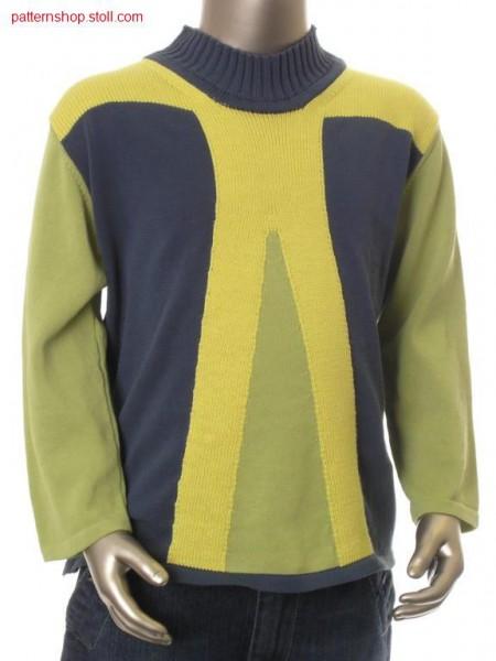 FF-Intarsia children's pullover / FF-Intarsia Kinderpullover